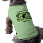 Suéter del perrito del dólar del perro ropa de mascota