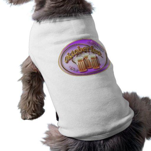 Suéter del perro de Oktoberfest Playera Sin Mangas Para Perro