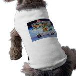 Suéter del perro del arte del Corgi Galés del Pemb Camisa De Mascota