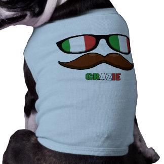 Suéter del perro del italiano IM Camiseta De Mascota