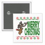 Suéter feo de Navidad de las Felices Navidad de lo Pins