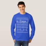 Suéter feo de radio del navidad de WDW