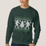 Suéter feo del navidad de Bigfoot del día de