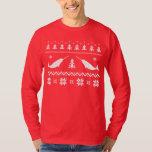 Suéter feo del navidad de Narwhal