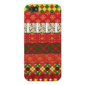 Suéter feo del navidad iPhone 5 cárcasa