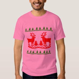 Suéter feo del navidad playeras