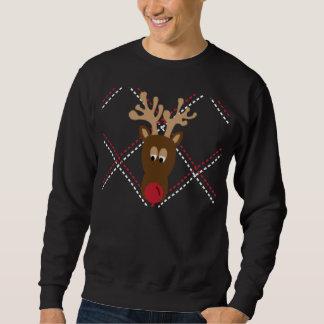 Suéter feo del navidad pull over sudadera