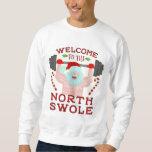 Suéter feo divertido el | Santa Swole del norte