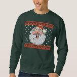 Suéter feo feo del navidad de Santa