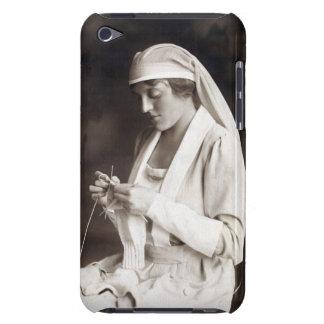 Suéter que hace punto de la enfermera de WWI iPod Touch Cárcasas