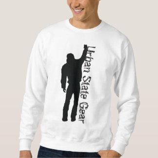Suéter urbano del pintor del estado