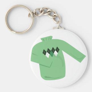 Suéter verde llaveros