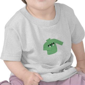 Suéter verde camiseta