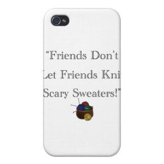¡Suéteres asustadizos! iPhone 4 Fundas
