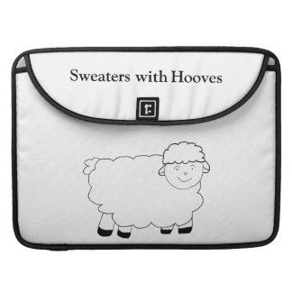 Suéteres con los enganches funda para macbooks