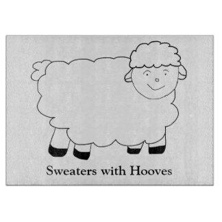 Suéteres con los enganches tabla para cortar