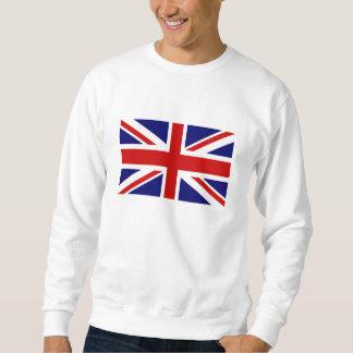 Suéteres de Union Jack Sudaderas Encapuchadas