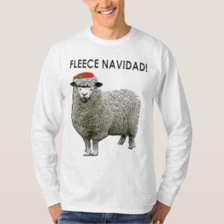 Suéteres feos del navidad playera