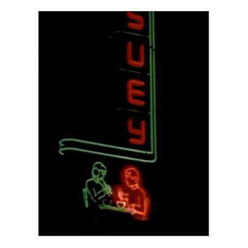 Suey, 1930's San Francisco Chinatown Neon Sign Post Card