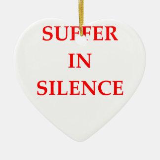 SUFFER CERAMIC ORNAMENT
