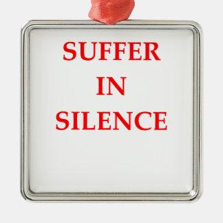 SUFFER METAL ORNAMENT