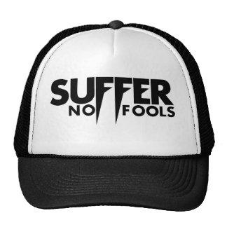 Suffer No Fools Hat (Black Logo)