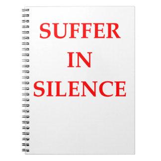 SUFFER SPIRAL NOTEBOOK