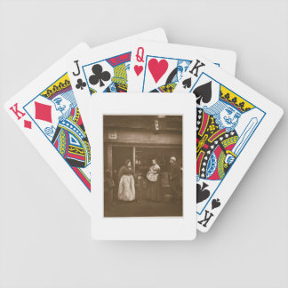 Sufferers from the Flood, from 'Street Life in Lon Bicycle Playing Cards