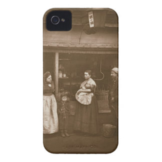 Sufferers from the Flood, from 'Street Life in Lon iPhone 4 Cases