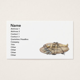 Suffering for Art Business Card