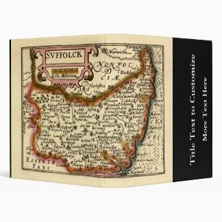 """Suffolck"" Suffolk County Map 3 Ring Binder"