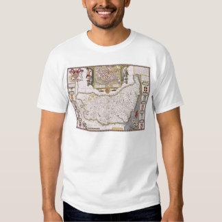 Suffolk and the situation of Ipswich T Shirt
