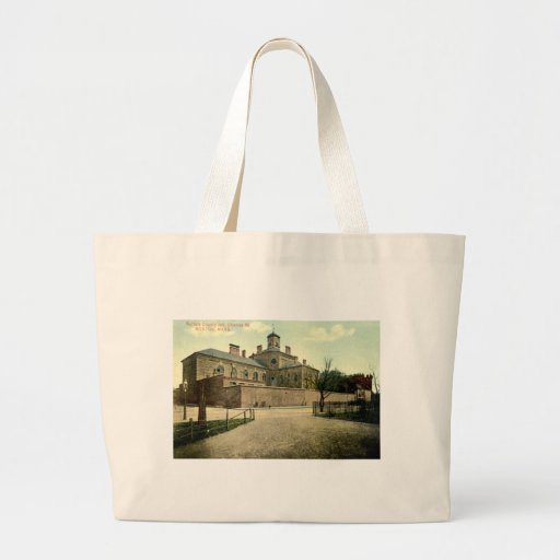 Suffolk Jail Boston Massachusetts 1915 Vintage Tote Bag