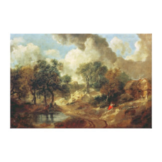 Suffolk Landscape, 1748 Canvas Print