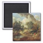 Suffolk Landscape, 1748 Fridge Magnets