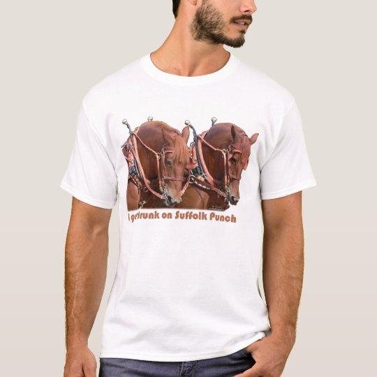 Suffolk Punch Draft Horse T-Shirt