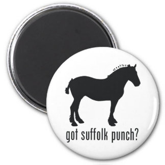 Suffolk Punch Magnet