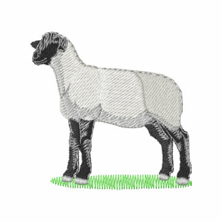 Suffolk Sheep Embroidered Polo Shirt