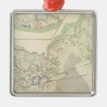 Suffolk & vicinity metal ornament