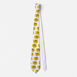 Suffolk Waving Flag with Name Neck Tie