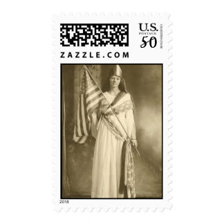 suffrage liberity lady postage