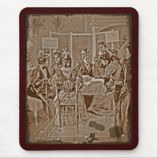 Suffrage Movement Meeting Mouse Pad
