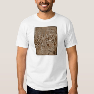 Suffrage Movement Meeting T-shirts