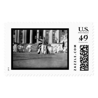 Suffrage Pageant Liberty 1913 Stamp
