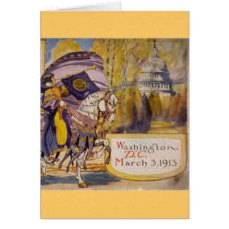 Suffrage Procession 1913 Greeting Cards