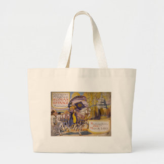 Suffrage Procession 1913 Jumbo Tote Bag