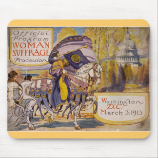 Suffrage Procession 1913 Mouse Pad