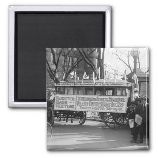 Suffrage Rally, 1919 2 Inch Square Magnet