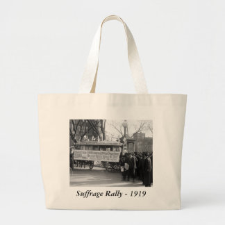Suffrage Rally, 1919 Tote Bags