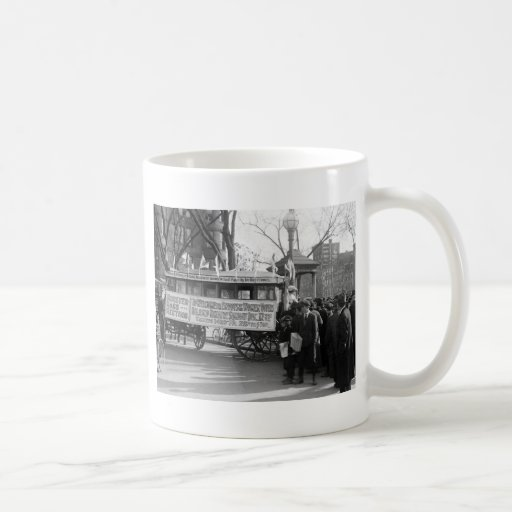 Suffrage Rally, 1919 Classic White Coffee Mug